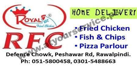 Royal Fried Chicken – Defence Chowk, Pwshawar Road, Rawalpindi