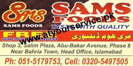 SAM Foods – Bahria Town, IBD