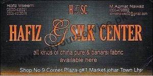 Hafiz & Silk Center (Pure & Banarsi Fabric) - Johar Town, Lahore
