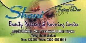 Shani Beauty Parlour & Training Centre - Tehsil Road, Jhelum