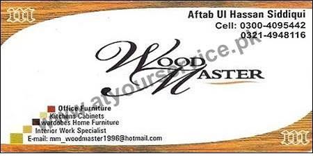 Wood Master (Officer Firniture, Kitchen Cabinet, Interior) U2013 Gulberg, Lahore