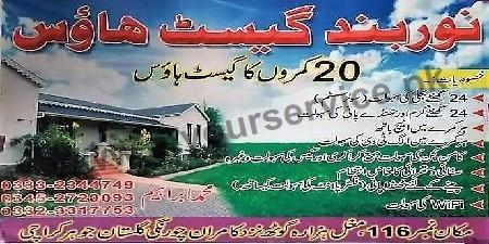 guest houses in karachi