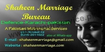 Shaheen Marriage Bureau – DHA Phase 2, Karachi – Pakistan's Largest