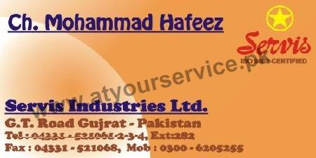 Service Industries – GT Road, Gujrat