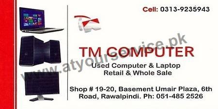 T M Computer Umair Plaza 6th Road Rawalpindi