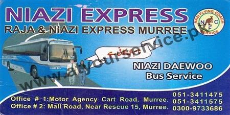 Niazi Express – Motor Agency, Cart Road, Murree – stan's Largest