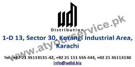 UDL Distribution - Korangi Industrial Area, Karachi