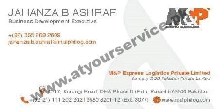 Muller & Phipps (M&P) Express Logistics - Korangi Road, DHA