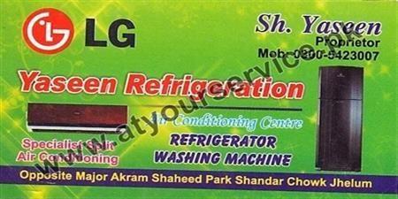 Yaseen Refrigeration Amp Air Conditioning Centre Shandar