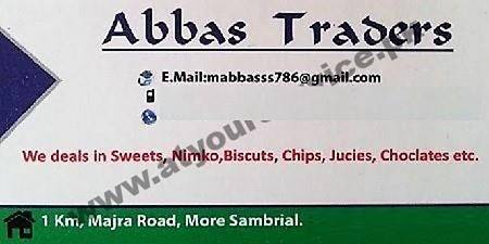 Abbas Traders – Majra Road, Sambrial, Sialkot