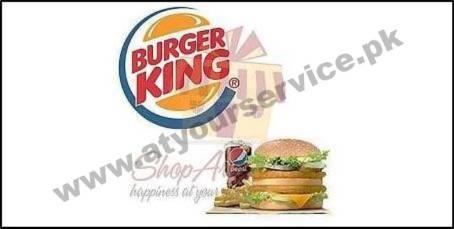 Burger King Pakistan Sher Shah Suri Road North