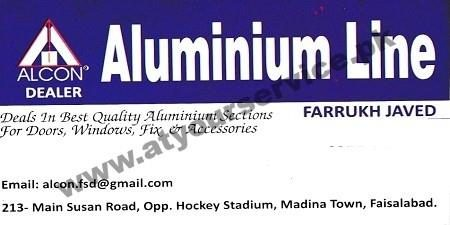 Aluminium Line - Susan Road, Madina Town, Faisalabad