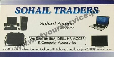 Sohail Traders – Hafeez Centre, Main Boulevard Gulberg III, Lahore