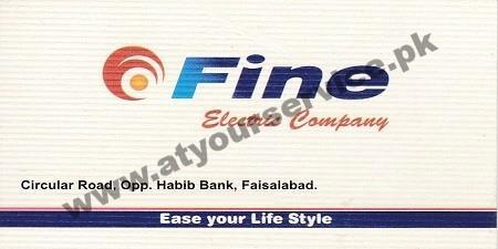Fine Electric Company – Circular Road, Faisalabad