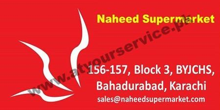 Naheed Supermarket – Block 3, BYJCHS, Bahadurabad, Karachi